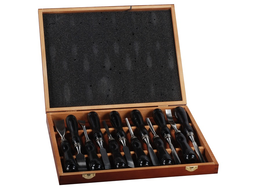 Bald Eagle 12 Piece Gunstock Carving Chisel Set