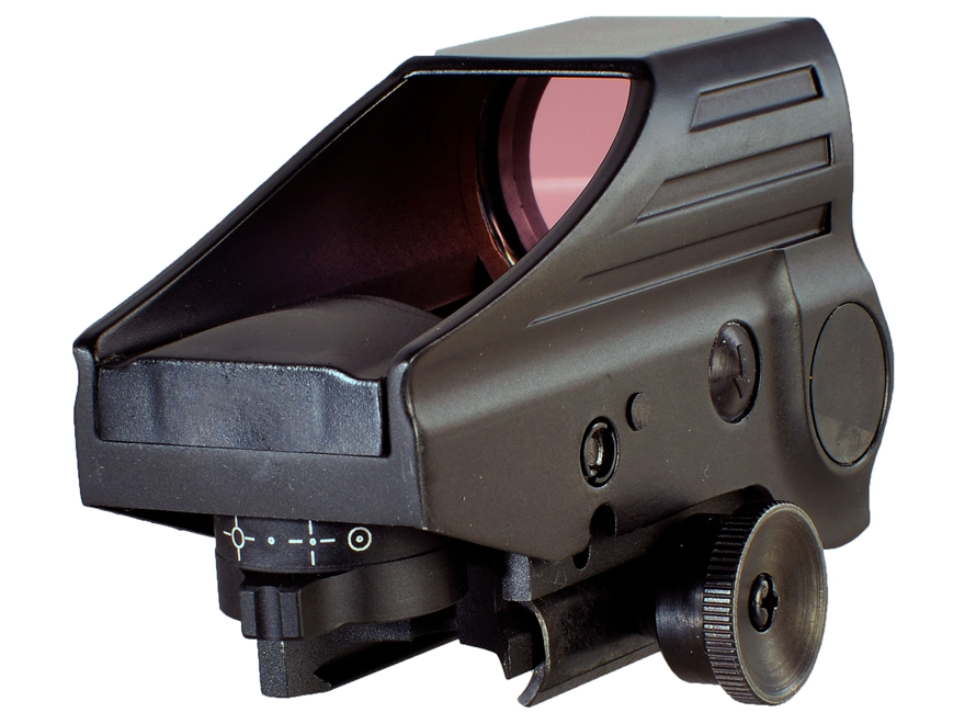 AimShot Compact Reflex Red Dot Sight 1x Green Multi Reticle Matte