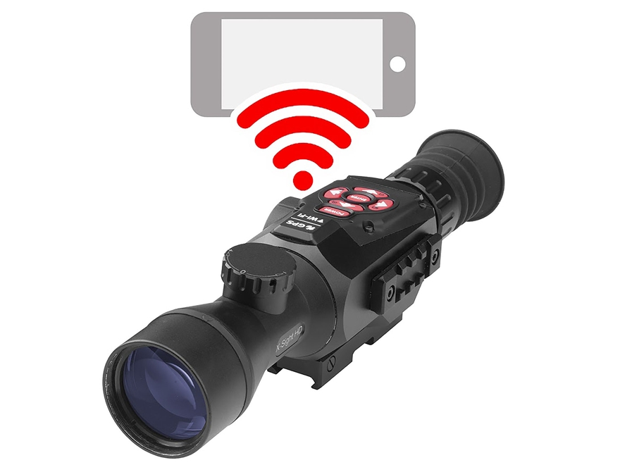 ATN X-Sight II Smart HD Optics Rifle Scope 3-14x Day/Night Digital Night Vision Matte