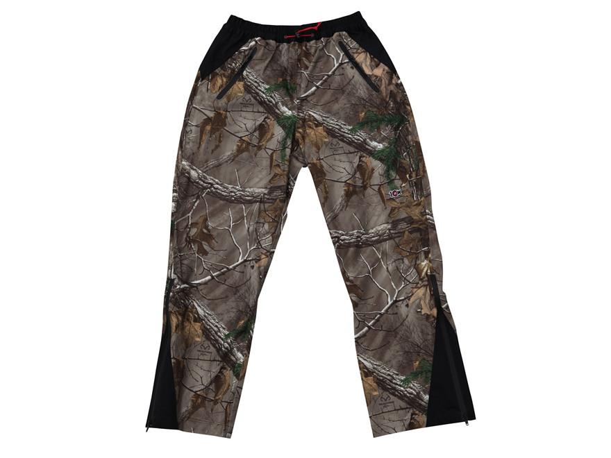 10X Men's Waterproof Rain Pants