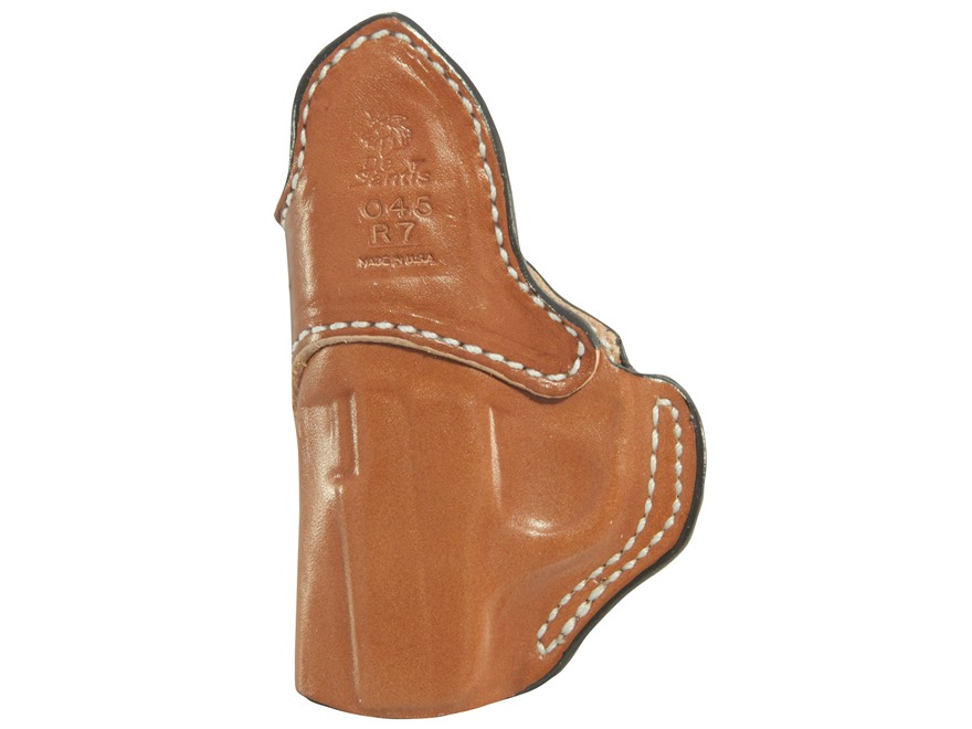 DeSantis Summer Heat Inside The Waistband Holster Right Hand Leather Brown