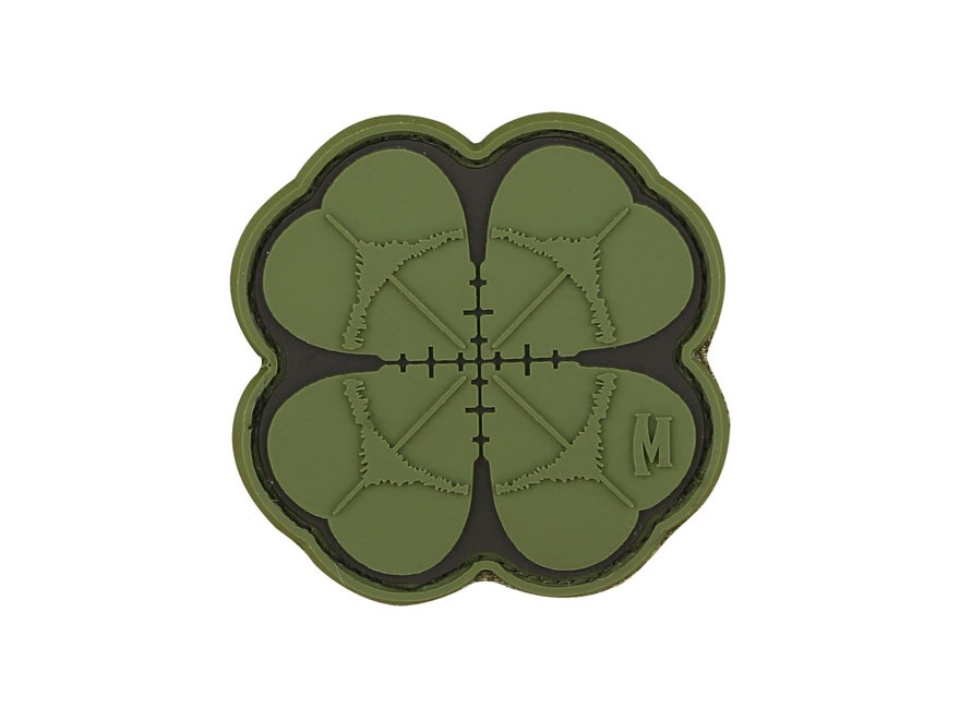 "Maxpedition Lucky Shot Clover PVC Patch 2"" x 2"""