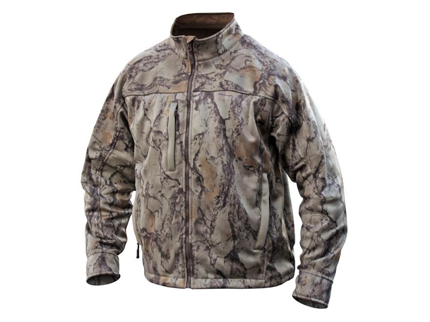 Natural Gear Men's Scent-Tek Performance Scent Control Softshell Jacket Polyester Natur...
