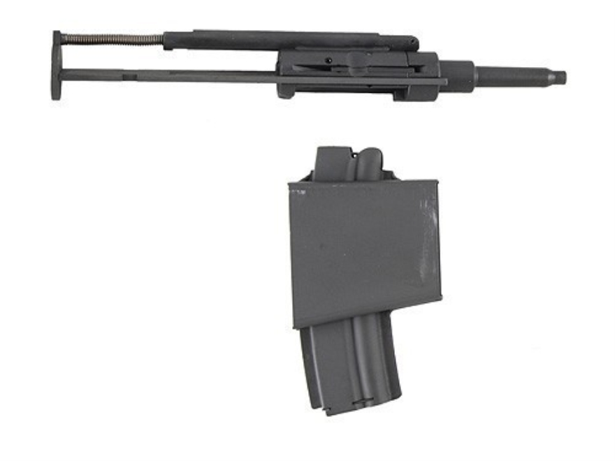 Ciener Rimfire Conversion Kit Atchisson AR-15 with 10-Round Magazine 22 Long Rifle Matte