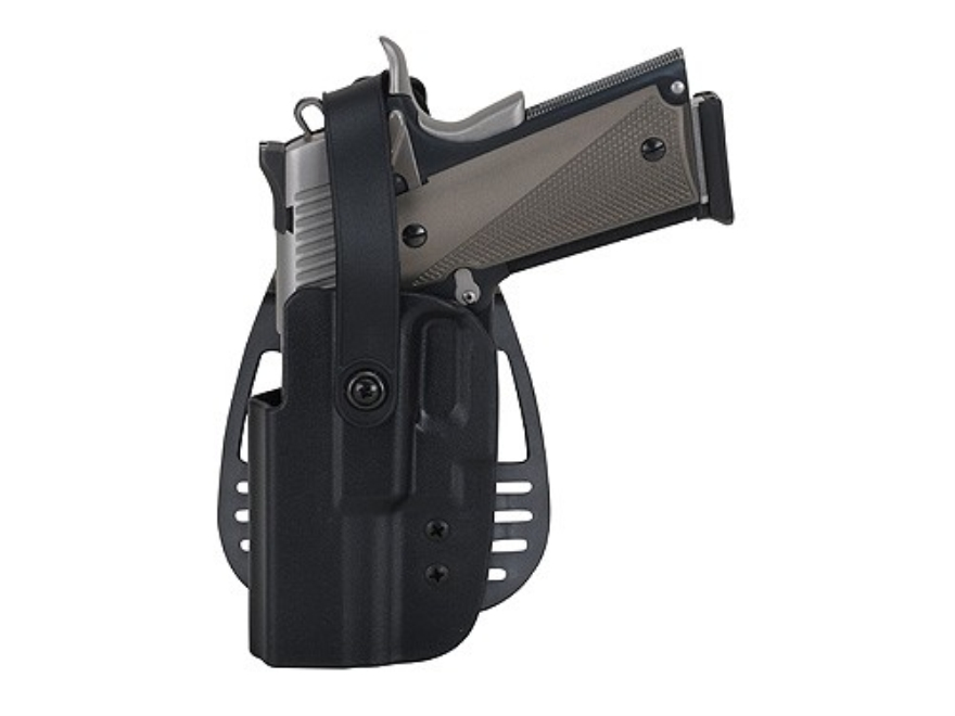Uncle Mike's Paddle Holster with Thumb Break Left Hand Glock 17, 19, 22, 23, 31, 32, 36...