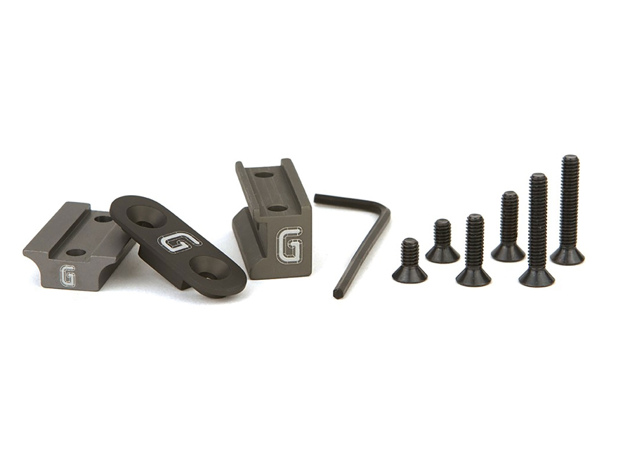 Geissele Surefire Scout Light Mount Kit Aluminum Matte