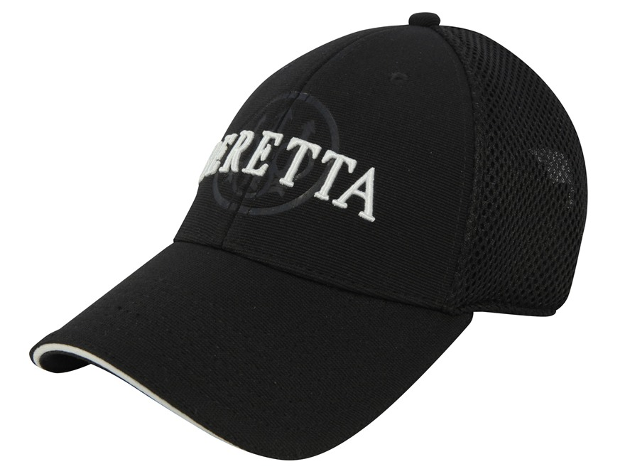 Beretta Mesh Logo Cap Cotton/Polyester Black