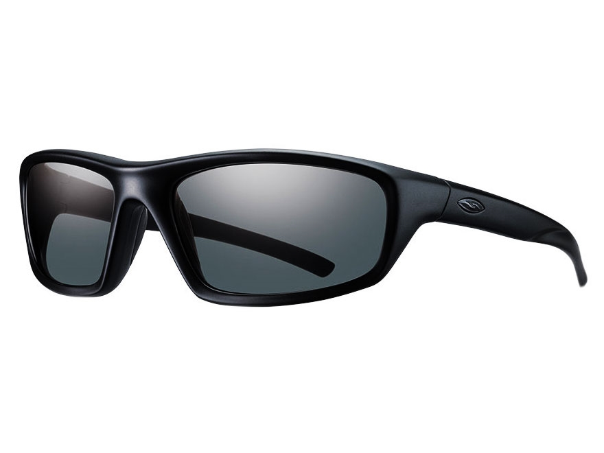 Smith Optics Elite Director Tactical Sunglasses Black Frame Clear Lenses