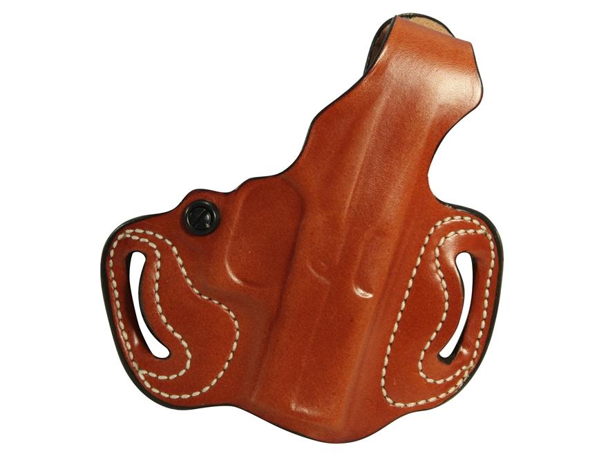 DeSantis Thumb Break Mini Slide Belt Holster Glock 42 Leather