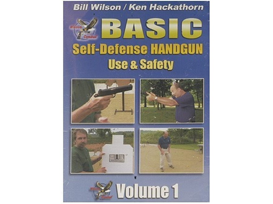 "Wilson Combat Video ""Basic Self-Defense Pistol Use & Safety, Volume 1"" DVD"