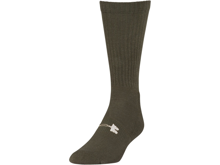 Under Armour Men's UA Tactical Heatgear Boot Socks Synthetic Blend 1 Pair