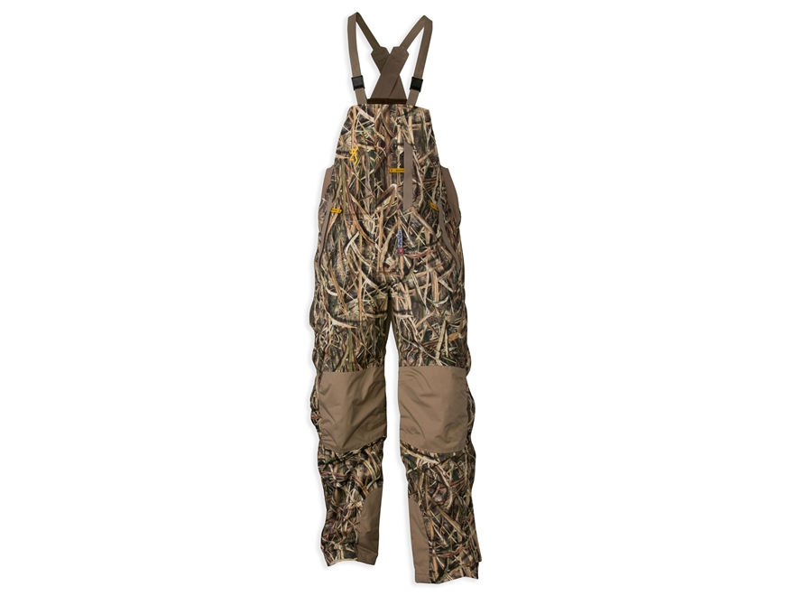 Browning Men's Wicked Wing Waterproof Insulated Bibs Polyester