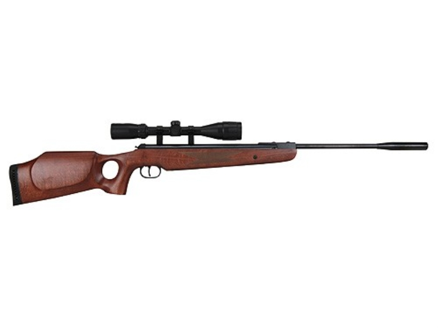 Ruger Air Hawk Elite Air Rifle 177 Caliber Wood Stock Blue Barrel with Scope 3-9x 40mm ...