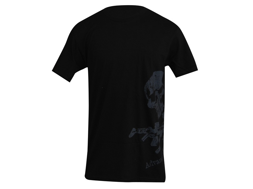 Advanced Armament Co (AAC) X-Guns Logo Sideprint T-Shirt Short Sleeve Cotton Black 2XL