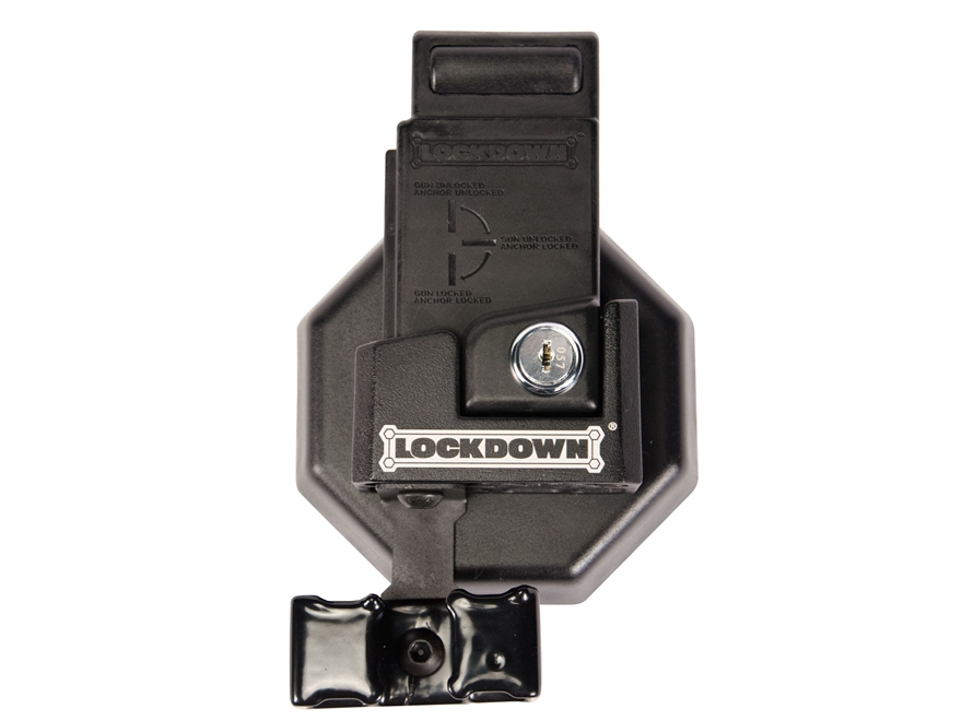 LOCKDOWN AR-15 Mag Well Lock with Wall Mount