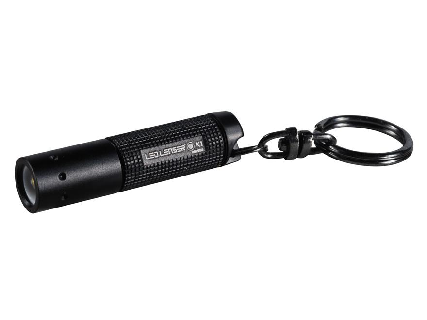 Led Lenser K1 Flashlight LED with 4 AG3 Button Batteries Aluminum Black