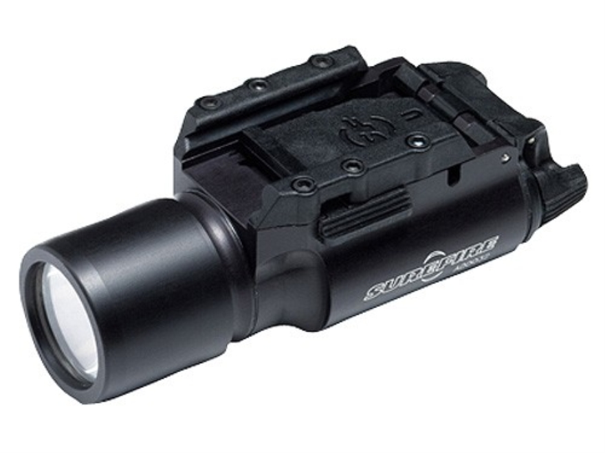Surefire X300 Pistol Light White LED Fits Picatinny or Glock-Style Rails Aluminum Black...