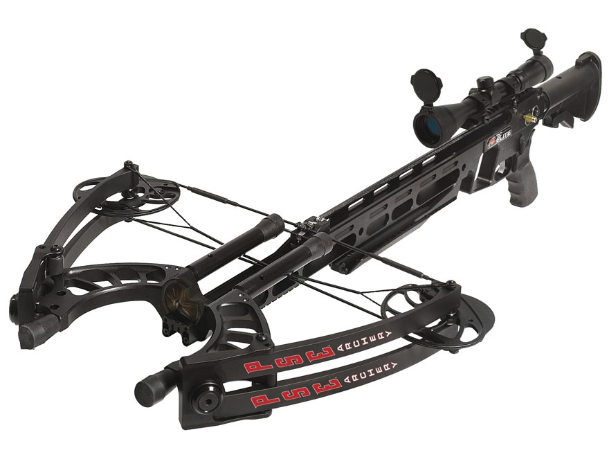 PSE TAC Elite Crossbow Package 2-7x 32mm Crossbow Scope Black