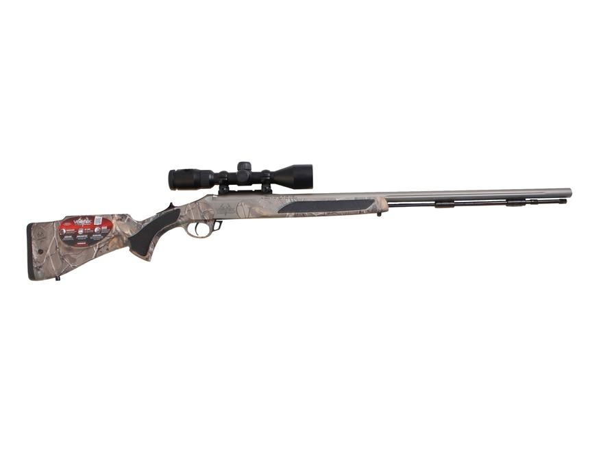 "Traditions Vortek StrikerFire Muzzeloading Rifle with 3-9x Scope 50 Caliber 28"" Cerakot..."