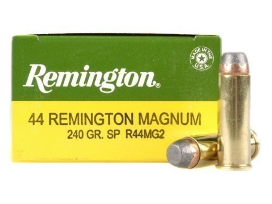 Remington Express Ammunition 44 Remington Magnum 240 Grain Jacketed Soft Point Box of 25