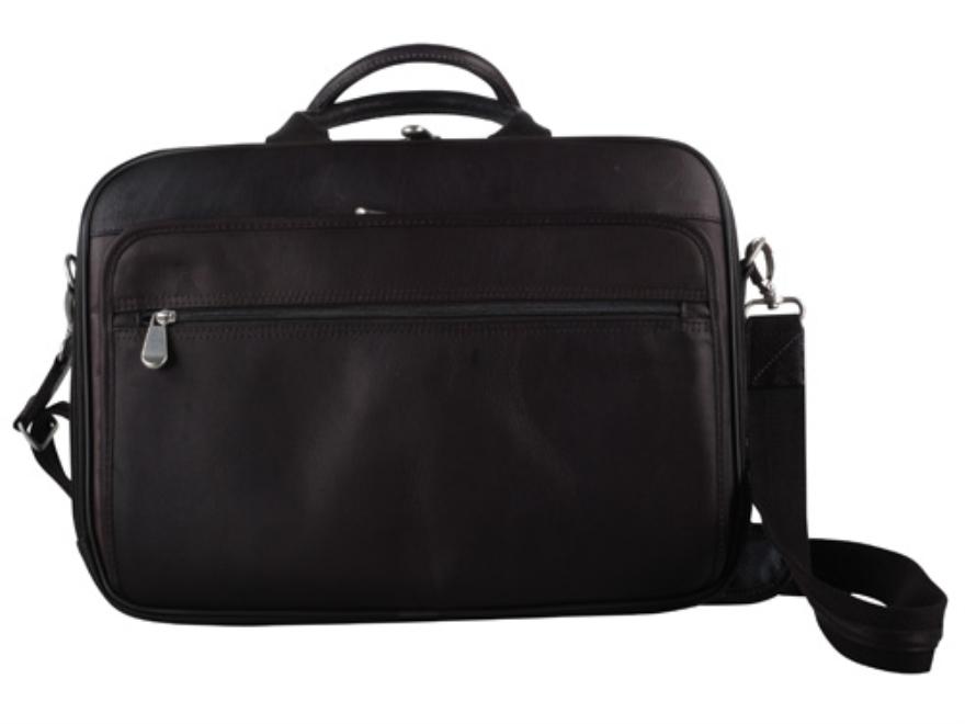 Gun Tote'N Mamas Men's Briefcase Leather Brown
