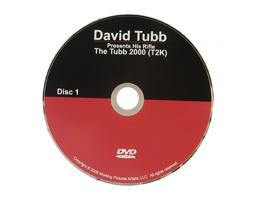 "David Tubb Video ""David Tubb Presents his Rifle: The Tubb 2000 (T2K)"" DVD"