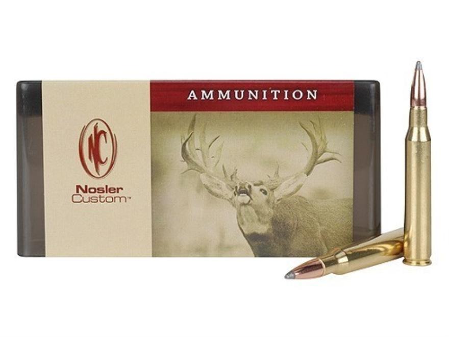 Nosler Custom Ammunition 280 Remington 160 Grain Partition Spitzer Box of 20