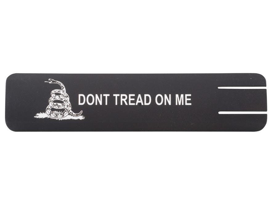 ERGO Full Profile Gadsden Flag Don't Tread on Me Insignia Rail Cover Polymer Black