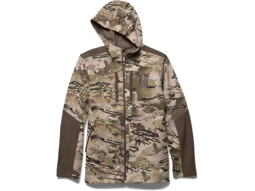 Under Armour Men's UA Ridge Reaper 13 Jacket Acrylic and Wool Ridge Reaper Barren Camo