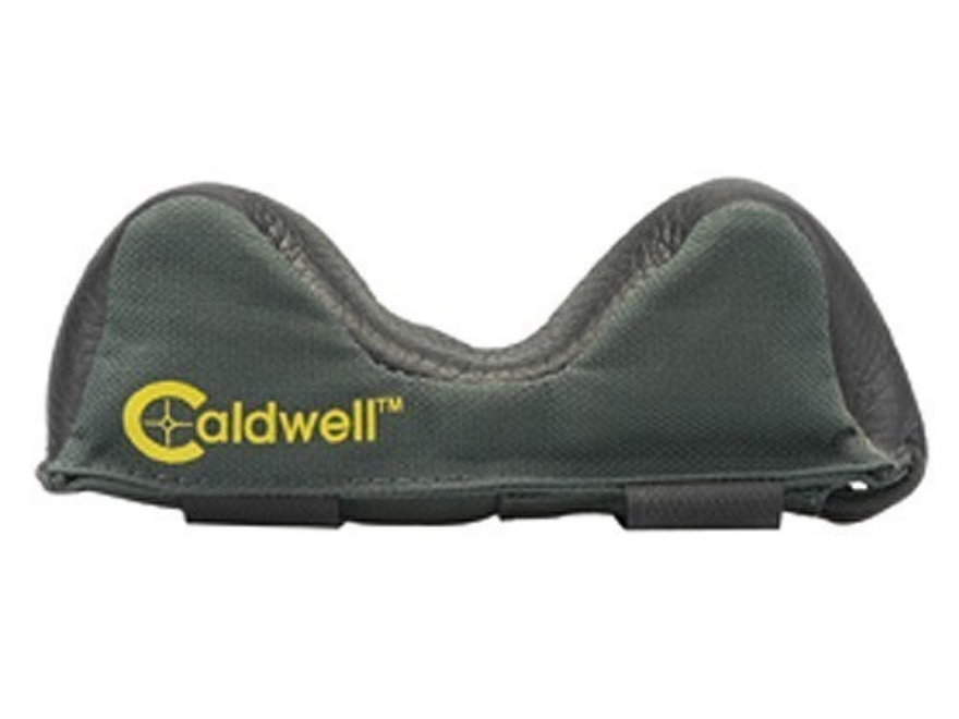 Caldwell Universal Deluxe Bench Rest Forend Front Shooting Rest Bag Wide Nylon and Leat...