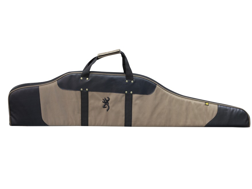 "Browning Fortress Scoped Rifle Case 48"" Polyester Brown"