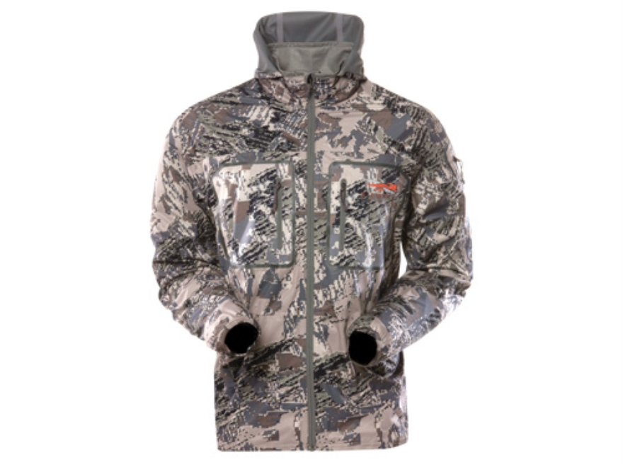 Sitka Gear Men's Contrail Windshirt Long Sleeve Polyester Gore Optifade Open Country Ca...