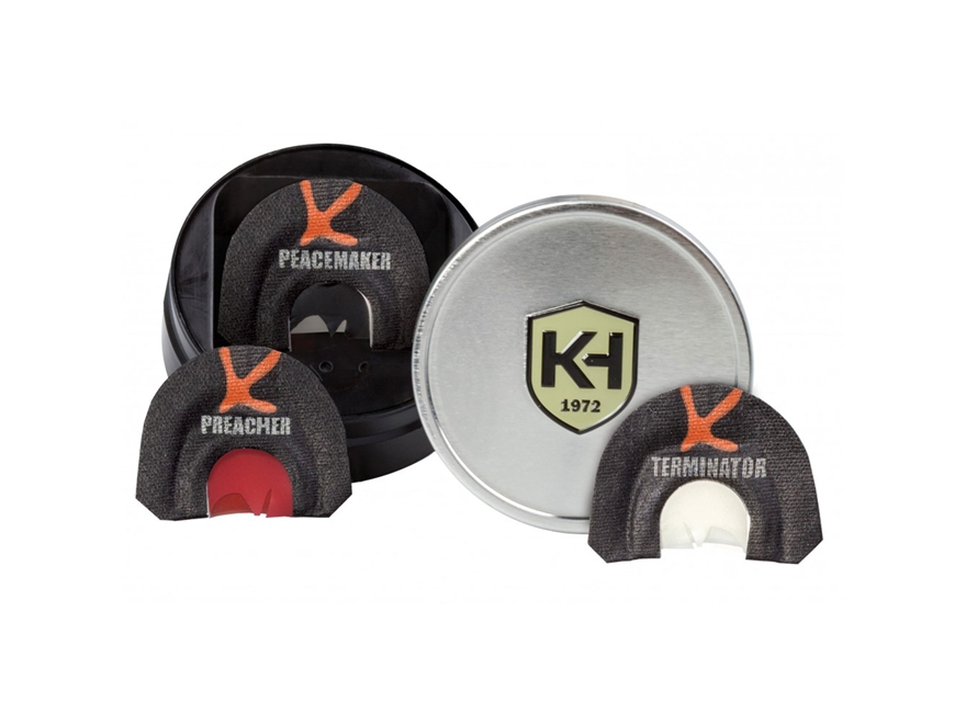 Knight & Hale Judgement Day Series Diaphragm Turkey Call Pack of 3