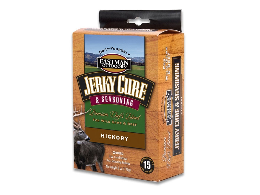 Eastman Outdoors Jerky Seasoning and Cure 15 lb Kit Hickory