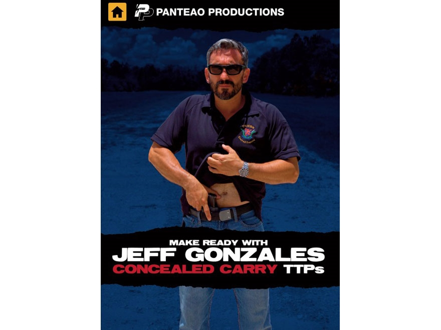 "Panteao ""Make Ready with Jeff Gonzales: Concealed Carry TTPs"" DVD"