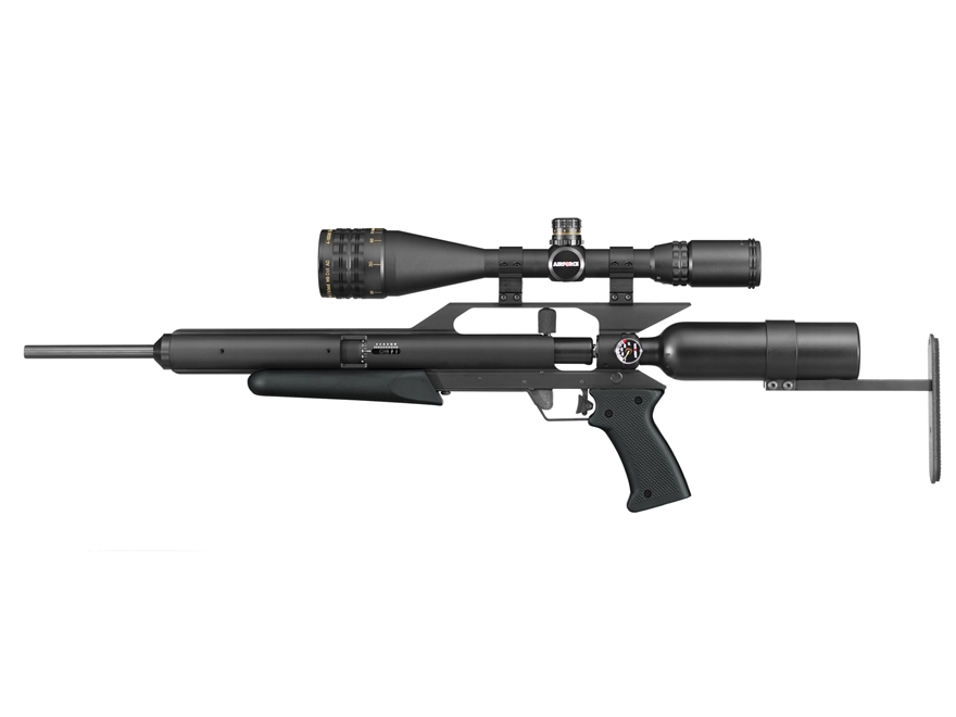 Airforce EscapeUL PCP Air Rifle 22 Caliber Pellet Black Synthetic Stock Matte Barrel wi...