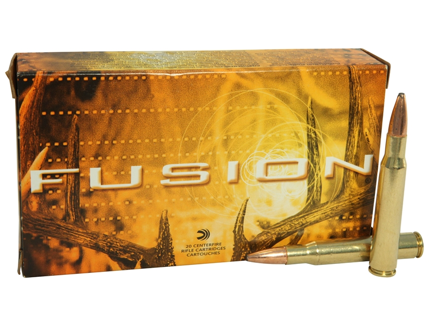 Federal Fusion Ammunition 30-06 Springfield 150 Grain Spitzer Boat Tail Box of 20