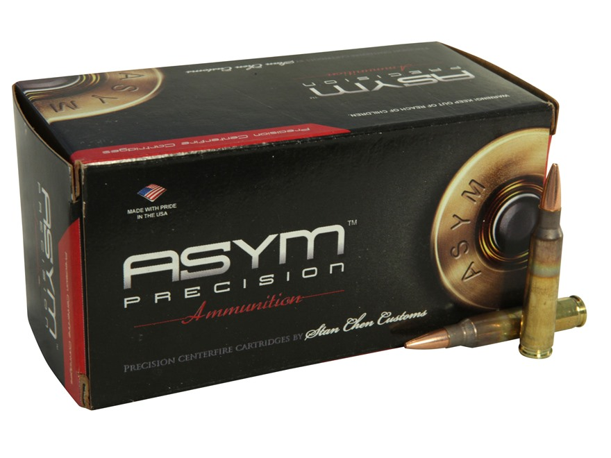 ASYM Precision Solid Defense X Ammunition 223 Remington 70 Grain Barnes Triple-Shock X ...