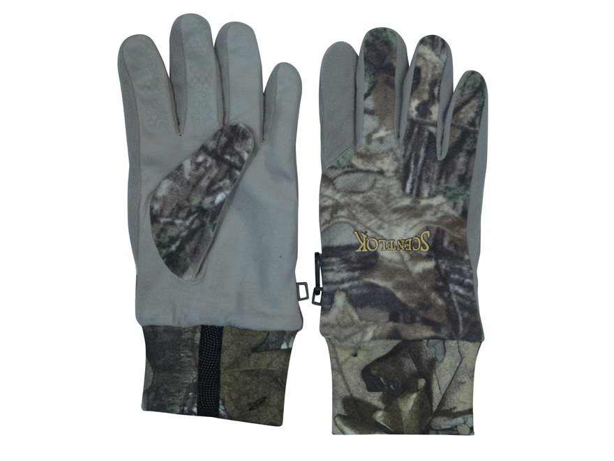 Scent-Lok Rampage Windproof Fleece Gloves