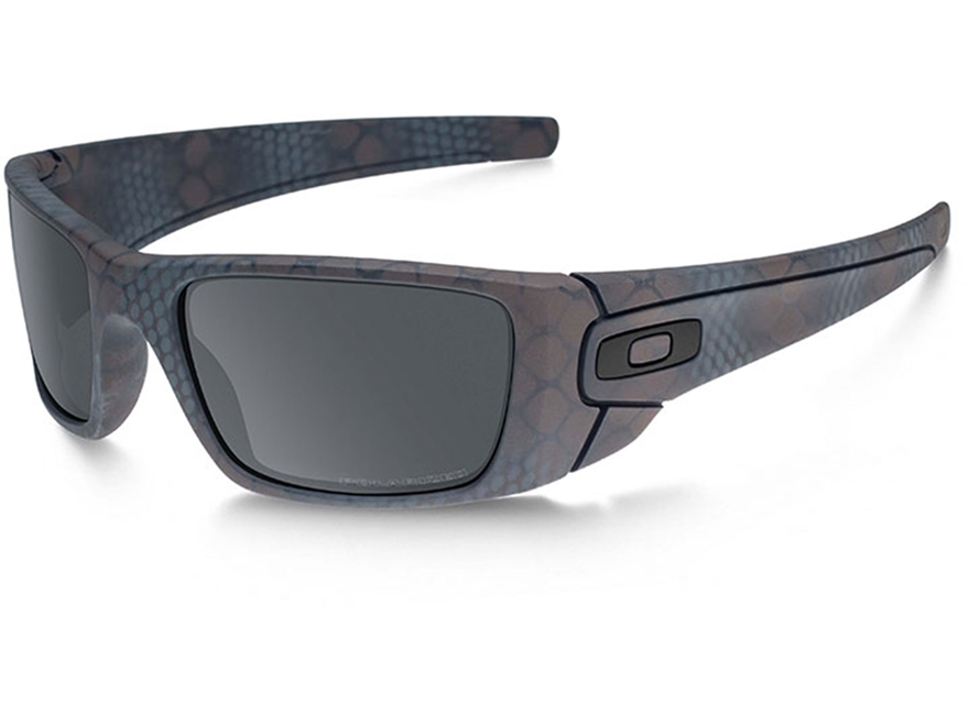 Oakley SI Fuel Cell Polarized Sunglasses Cerakote Daniel Defense Ultrablend Black Frame...
