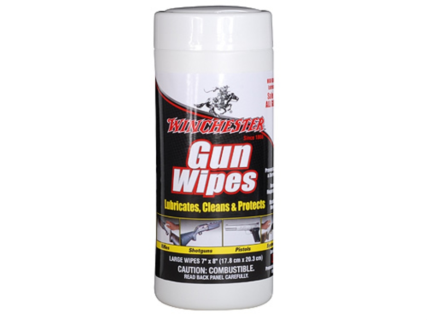 Winchester Gun Wipes 60 Wipe Container