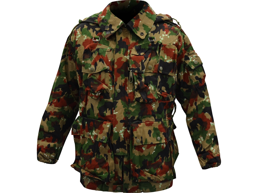 Surplus Swiss M70 Field Jacket Swiss Camo