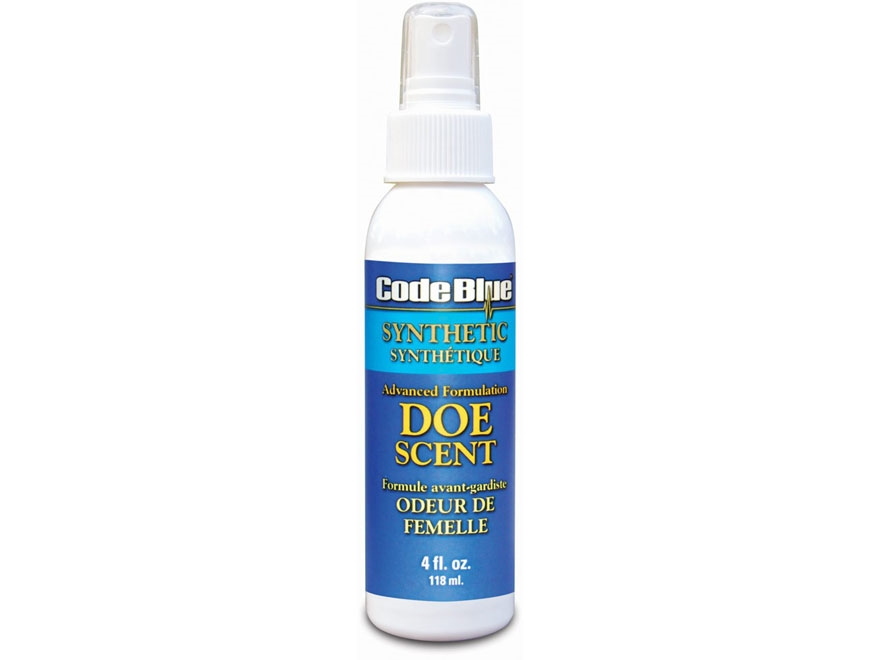 Code Blue Synthetic Doe Urine Deer Scent Liquid 4 oz