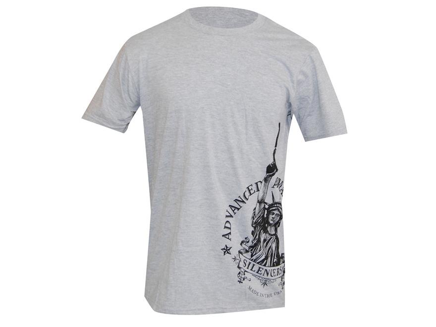 Advanced Armament Co (AAC) LibertTee Sideprint T-Shirt Short Sleeve Cotton Gray XL