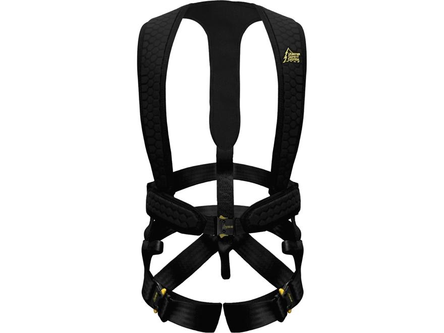 Hunter Safety System Ultra-Lite Flex Black Ops Treestand Safety Harness Black L/XL
