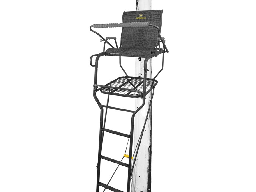 Hawk Sasquatch 1.5-Man Ladder Treestand Steel