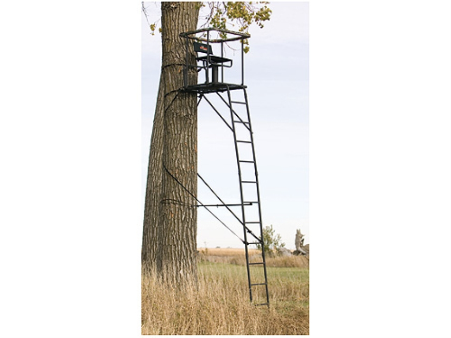 Big Game The Infinity Ladder Treestand Steel Black