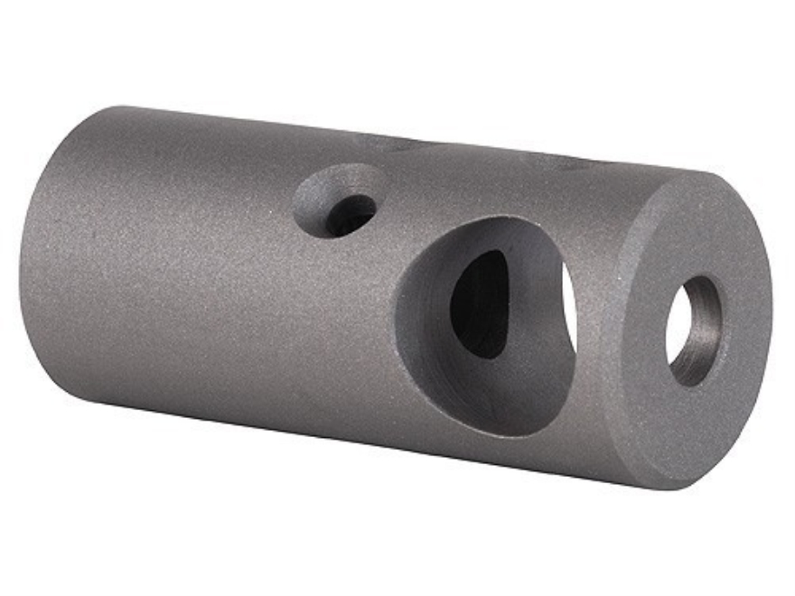 """Nordic Components Tactical Compensator Muzzle Brake 1/2""""-28 Thread AR-15 Stainless Steel"""