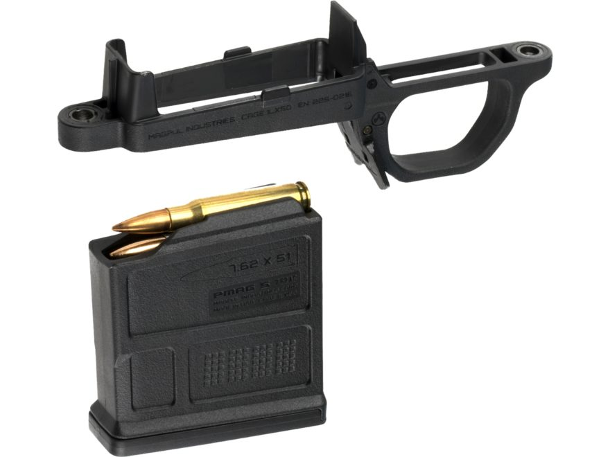 Magpul Hunter 700 Detachable Magazine Well with 5-Round Magazine Polymer Black