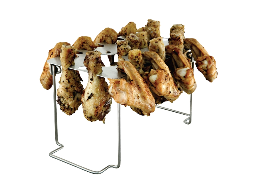 LEM EZ Legs & Wings Grill Rack Stainless Steel
